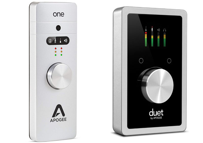 Apogee One vs Duet 2