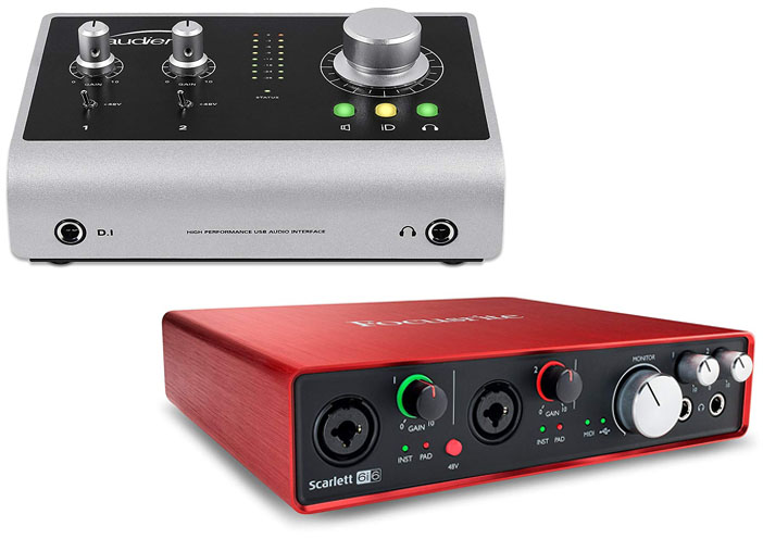 Audient iD14 vs Focusrite 6i6