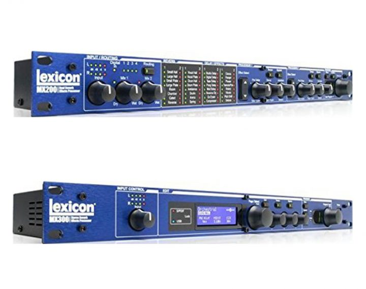 Lexicon MX200 vs MX300