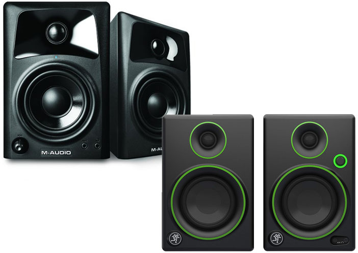 M-Audio AV32 vs Mackie CR3