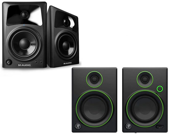 M-Audio AV42 vs Mackie CR4