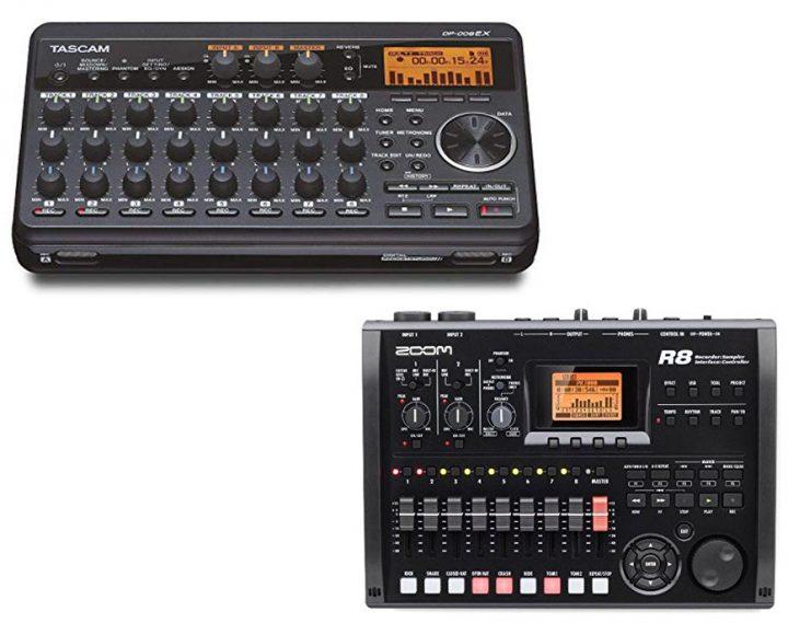 Tascam DP-008EX vs Zoom R8