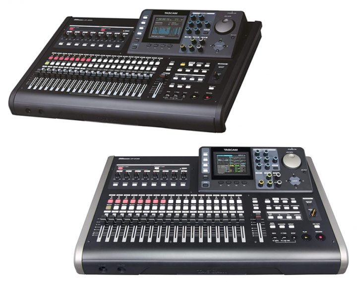 Tascam DP-32SD vs DP-24SD