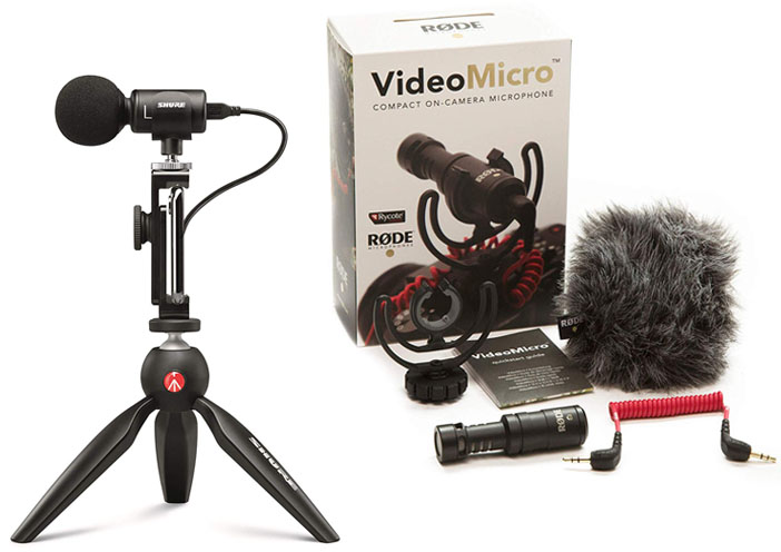 Shure MV88+ vs Rode VideoMicro