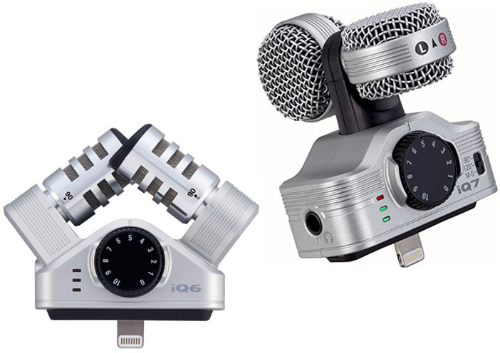 Zoom iQ6 vs iQ7