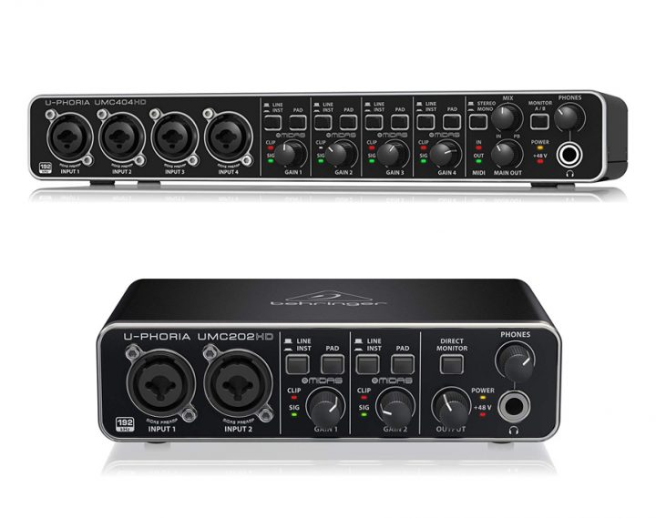 Behringer UMC404HD vs UMC204HD