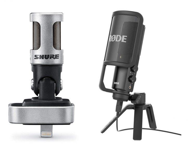 Shure MV88 vs Rode NT-USB