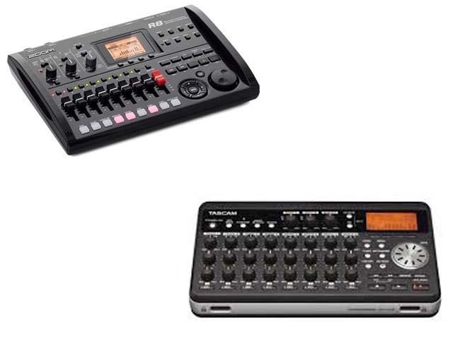 TASCAM DP 008 vs ZOOM R8