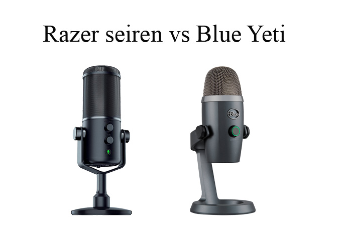 Razer Seiren vs Blue Yeti