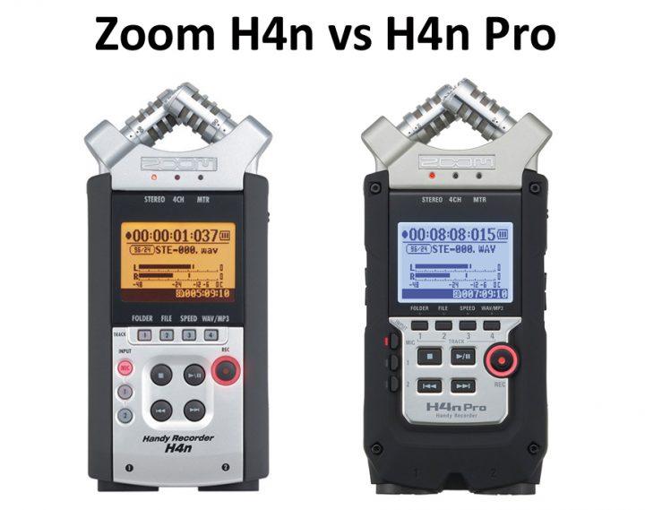 Zoom H4n vs H4n Pro