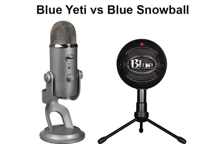 Blue Yeti vs Blue Snowball