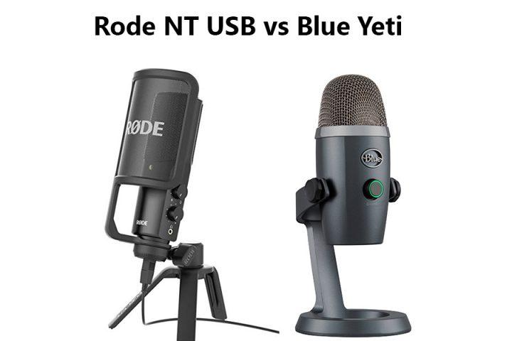 Rode NT USB vs Blue Yeti