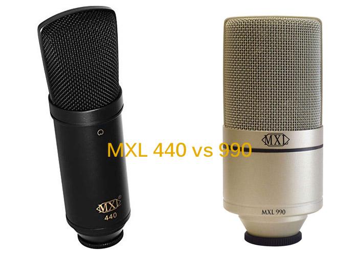 MXL 440 vs 990