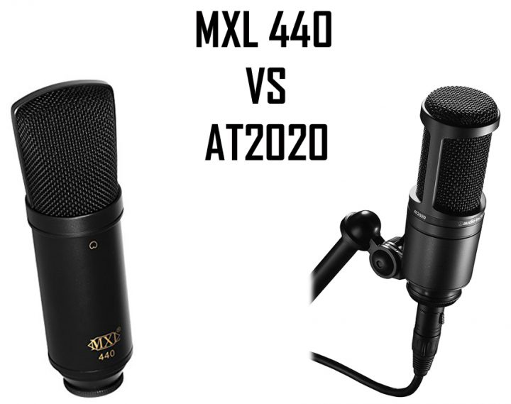 MXL 440 vs AT2020