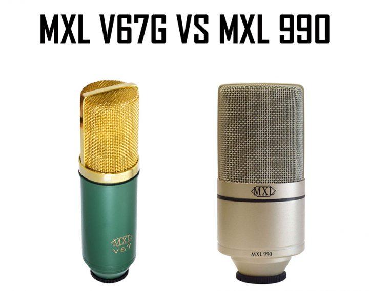 MXL V67G vs MXL 990