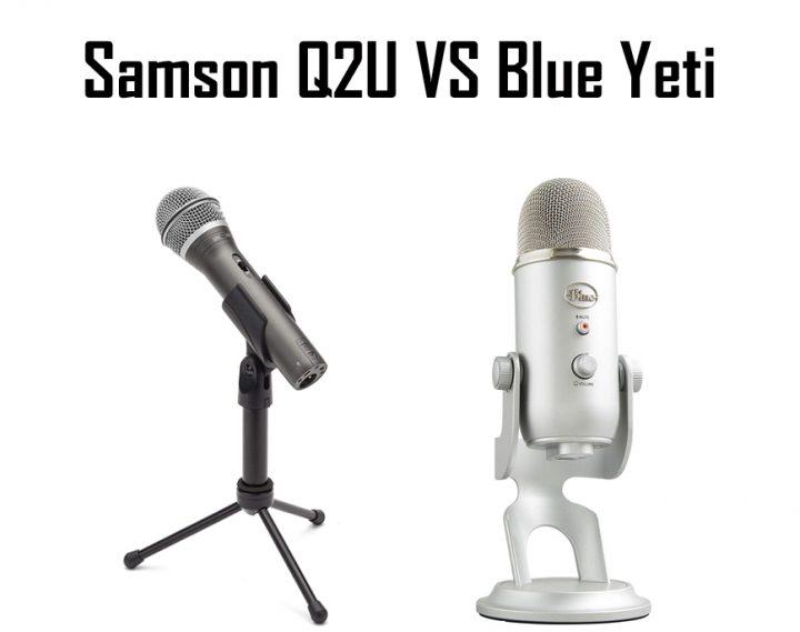 Samson Q2U vs Blue Yeti