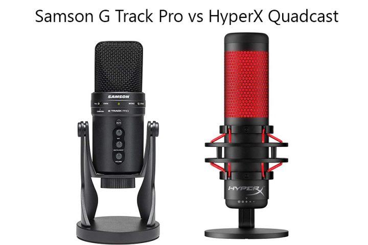Samson G Track Pro vs HyperX Quadcast