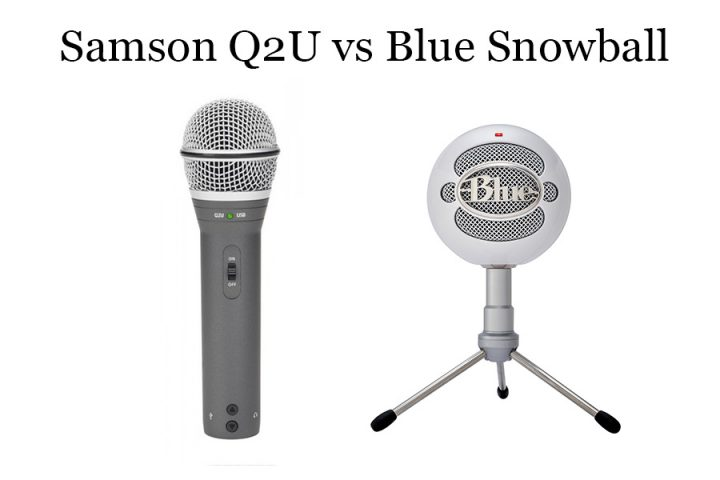 Samson Q2U vs Blue Snowball