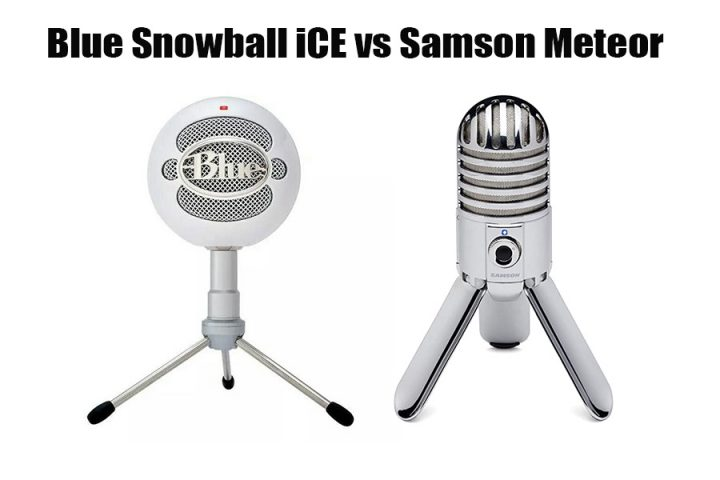 Blue Snowball iCE vs Samson Meteor