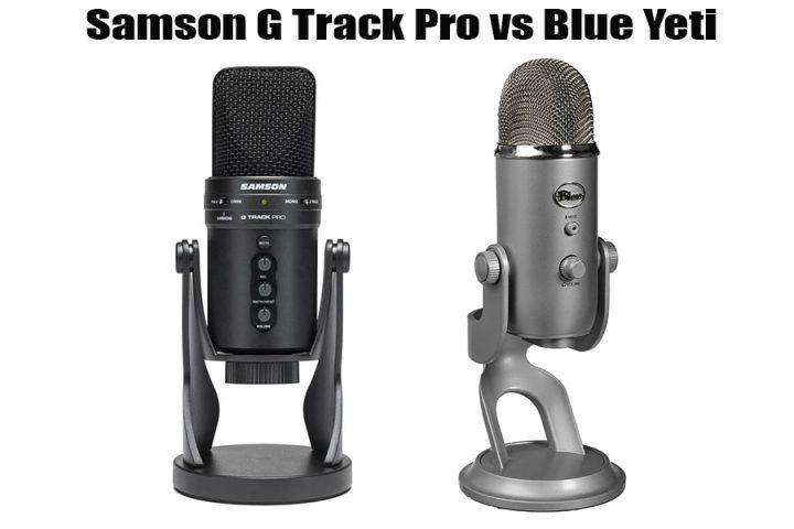 Samson G Track Pro vsBlue Yeti