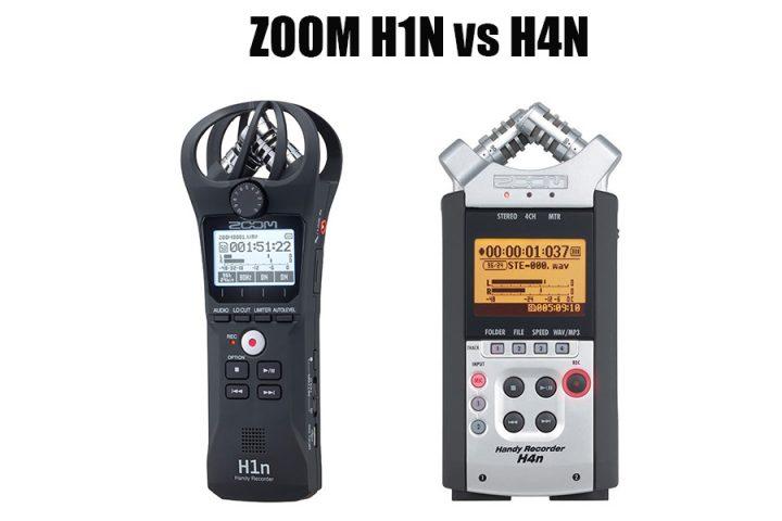 ZOOM H1N vs H4N