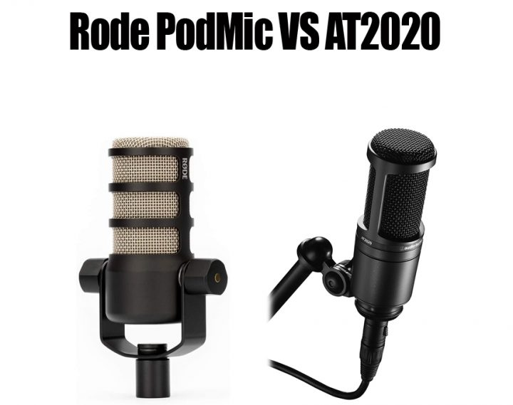 Rode PodMic vs AT2020