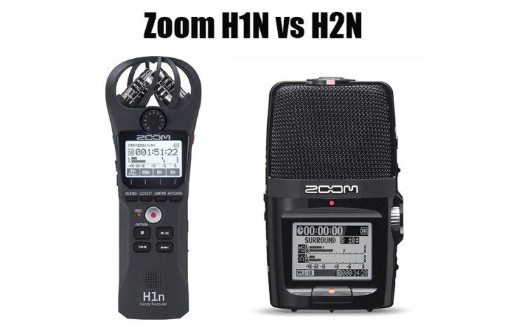 Zoom H1N vs H2N