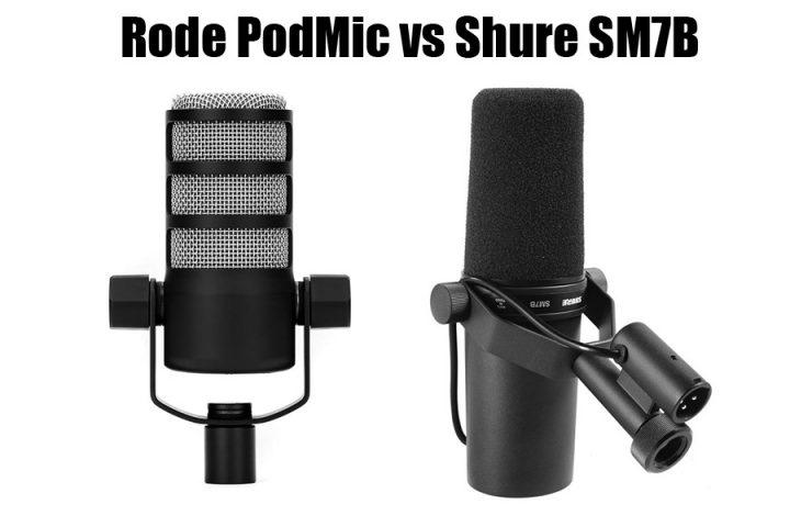 Rode PodMic vs Shure SM7B