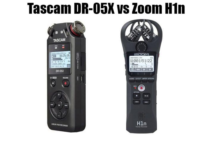 Tascam DR-05X vs Zoom H1n